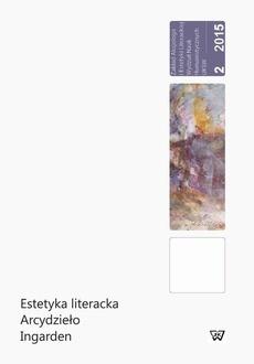 Estetyka literacka - Arcydzieło - Ingarden, B. Garlej, B. Kuczera-Chachulska