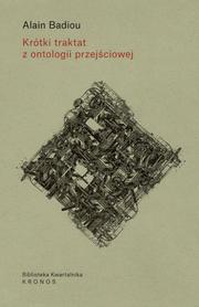 Krótki traktat z ontologii przejściowej, Alain Badiou