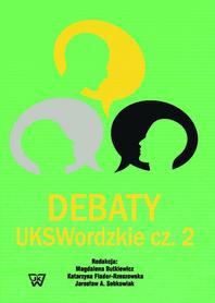 Debaty UKSWordzkie cz.2, M. Butkiewicz, K. Flader-Rzeszowska, J. A. Sobkowiak