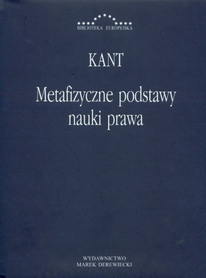 Metafizyczne podstawy nauki prawa, Immanuel Kant