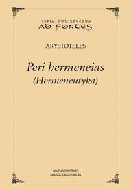 Peri hermeneias (Hermeneutyka), Arystoteles