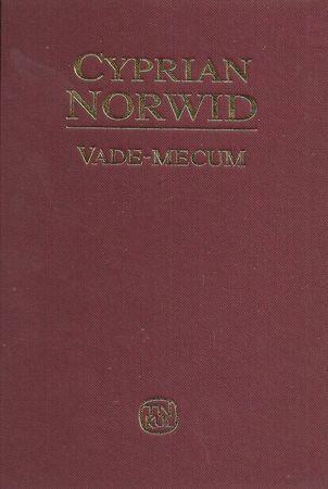 VADE-MECUM Cyprian Norwid, oprac. Józef Fert (1)