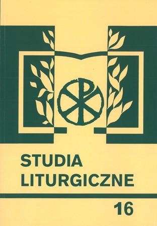Studia liturgiczne 16 (1)